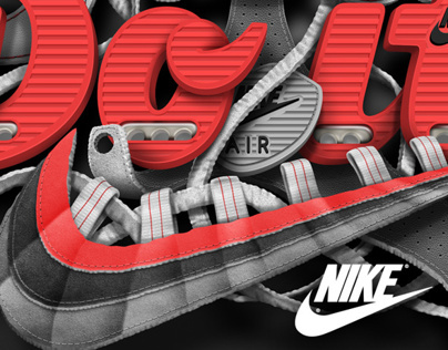 Nike Just Do It - Comissioned Artwork