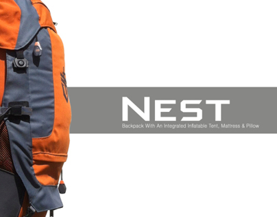 GERBER   Nest backpack with integrated tent