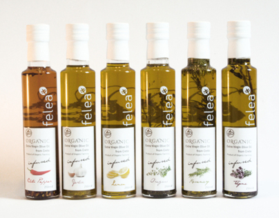 package design olive oil infused
