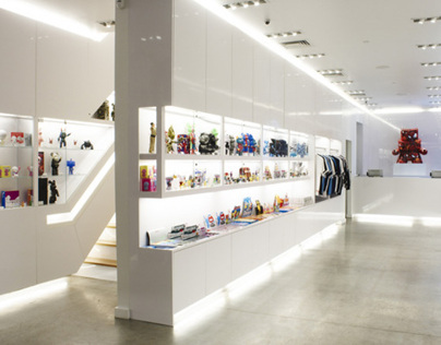Kidrobot Store/soho, New York City (Harry Allen Studio)