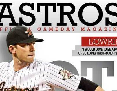 Astros Gameday Magazine