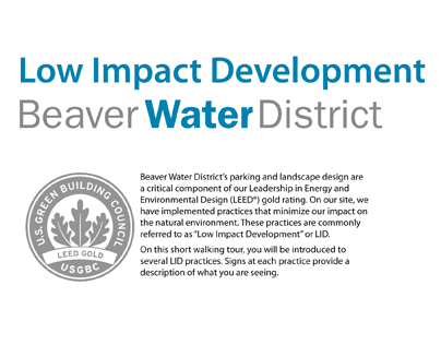 Beaver Water District & Low Impact Development