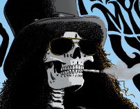 Slash Singapore Tour Poster