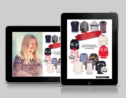 A+A Interactive Holiday Lookbook | Digital Publishing
