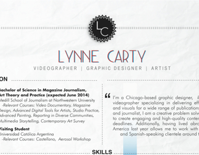 Lynne Carty Resume