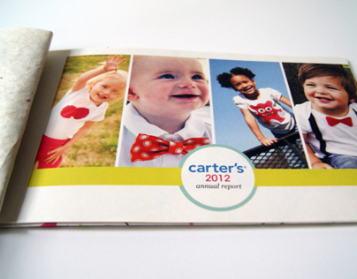 Carters Annual Report Redesign