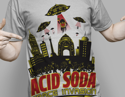 ACID SODA T-SHIRTS