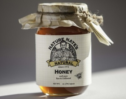 Nature Nates Honey Package Rebranding