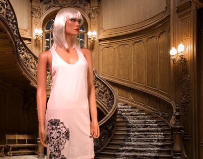 The House Of Bathory Screen-Printed Bo Tank Dresses
