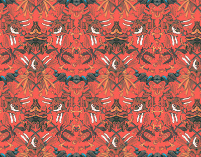 Wallpaper pattern design 14 Edouard Artus ©2012