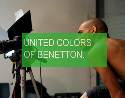 Live Windows Project - Fabrica pour Benetton