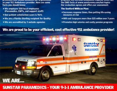 Newsprint Publication - Sunstar Paramedics