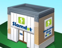 Slamdot Store Illustration