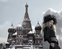 RUSSIA - Fashion shot for Andre Badi -