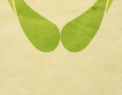 THINK GREEN : Earth Day Poster