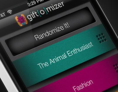 Gift[O]Mizer iPhone App