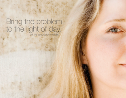 Bring the problem to the light of day