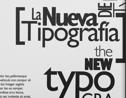 The New Typography Posters