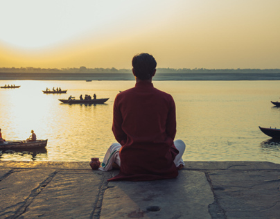 A Morning on the Ganges
