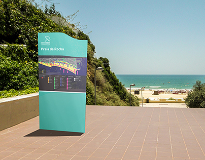 Sistema de Sinalética - Praia da Rocha | Wayfinding