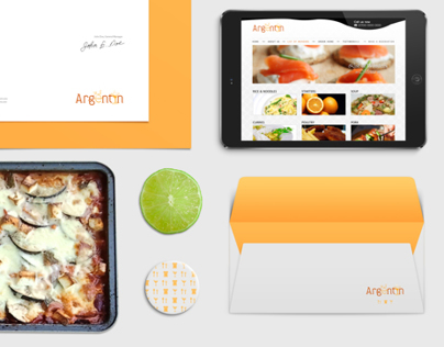 Restaurant: webdesign, branding, stationery