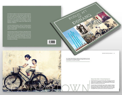 PUBLICATION DESIGN - PUBLIC ART OF PENANG