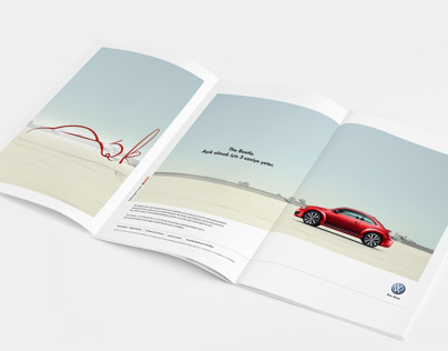 Volkswagen The Beetle advertise
