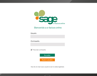 Sage efactura Online - Windows 8 App