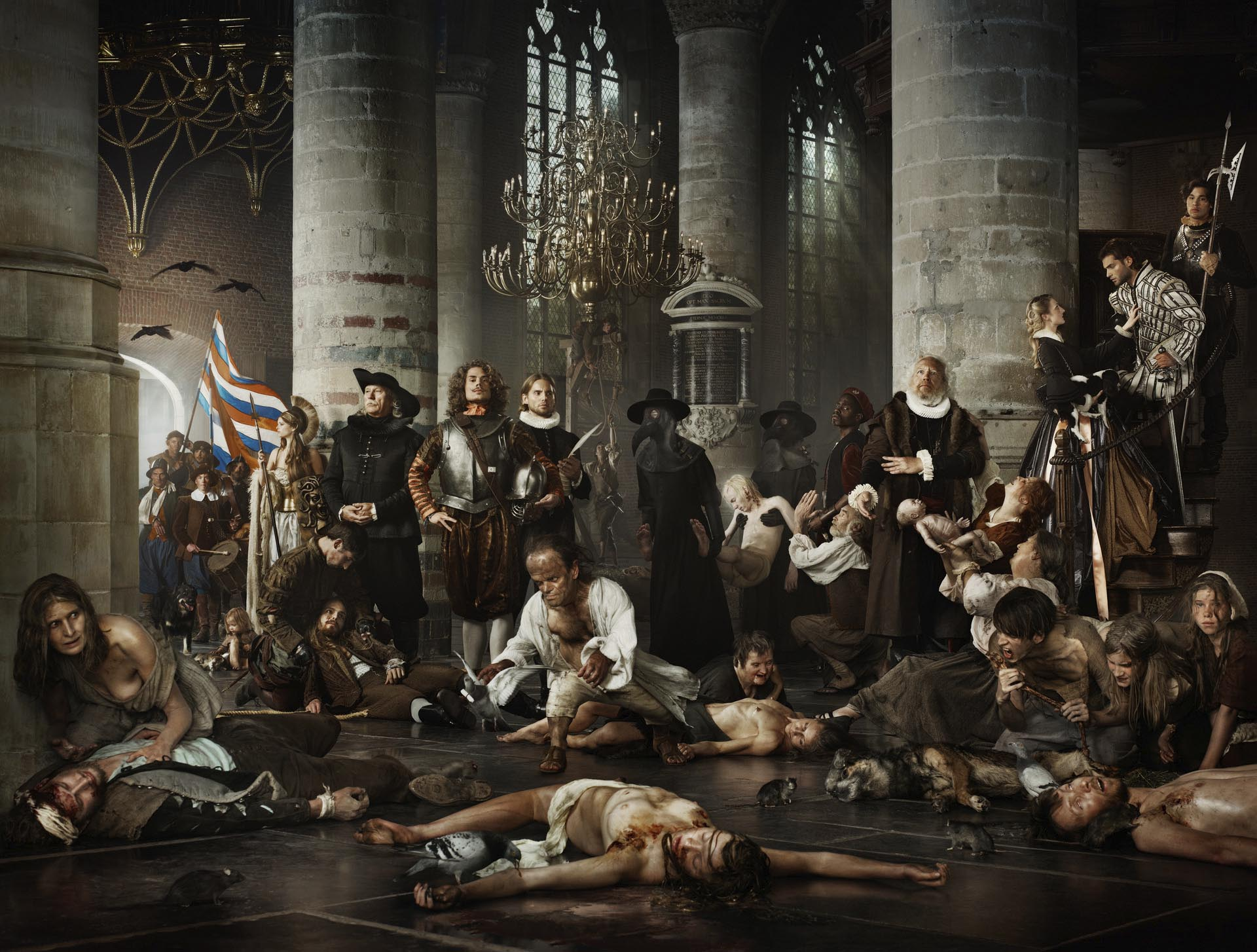 Erwin Olaf - Liberty (Relief of Leiden)