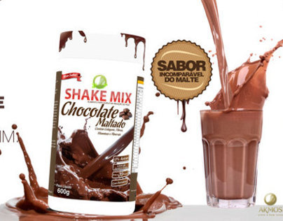 Shake Chocolate e Açaí
