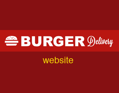 Burger Delivery Website