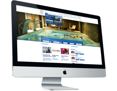 Hotel & Spa Website and App