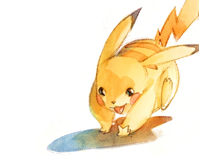 Watercolor Pokemon!