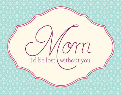 Mom, I love you. Digital Ensemble for Stampin Up!