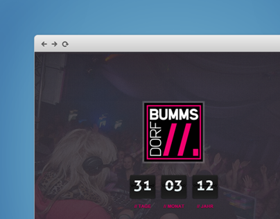 Dorfbumms – Music & Events
