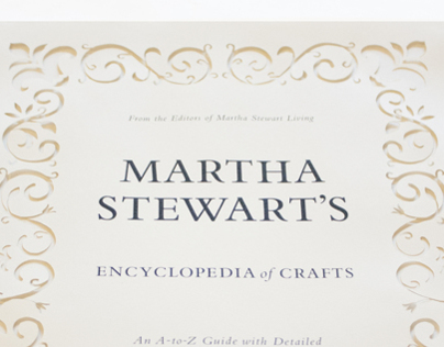 Martha Stewart's Encyclopedia of Crafts - Title Page