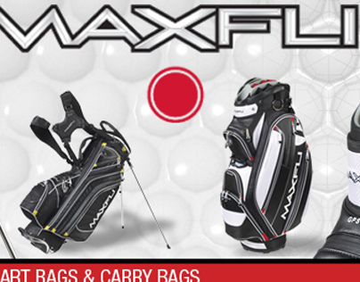 Maxfli Golf Web Banners for Golf Galaxy