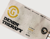 Logo and press kit - Denim therapy