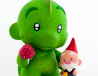 Fred & Ginger - Custom Designertoys