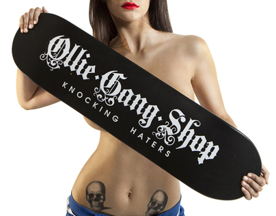 Postproduction for Ollie Gang Shop
