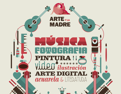 Arte y la Madre, illustration and advertising.