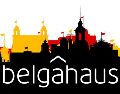 Belgahaus. Logo & website