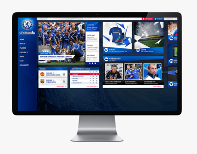 Chelsea Club / New Layout