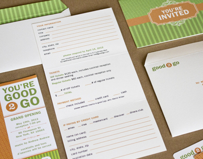 Good2Go Restaurant Branding Suite