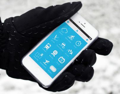 Chamonix Experience iPhone app.