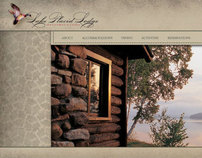 Lake Placid Lodge Website Concepts