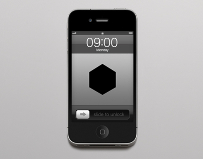 IPHONE 4 WALLPAPER | WEEKDAY GEOMETRIC SHAPES