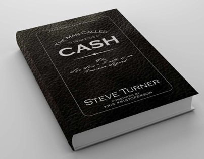 """The Man Called Cash"" Book Cover Redesign"