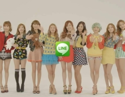 2012 LINE X SNSD Promotion Movie