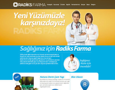 Radiks Farma Website
